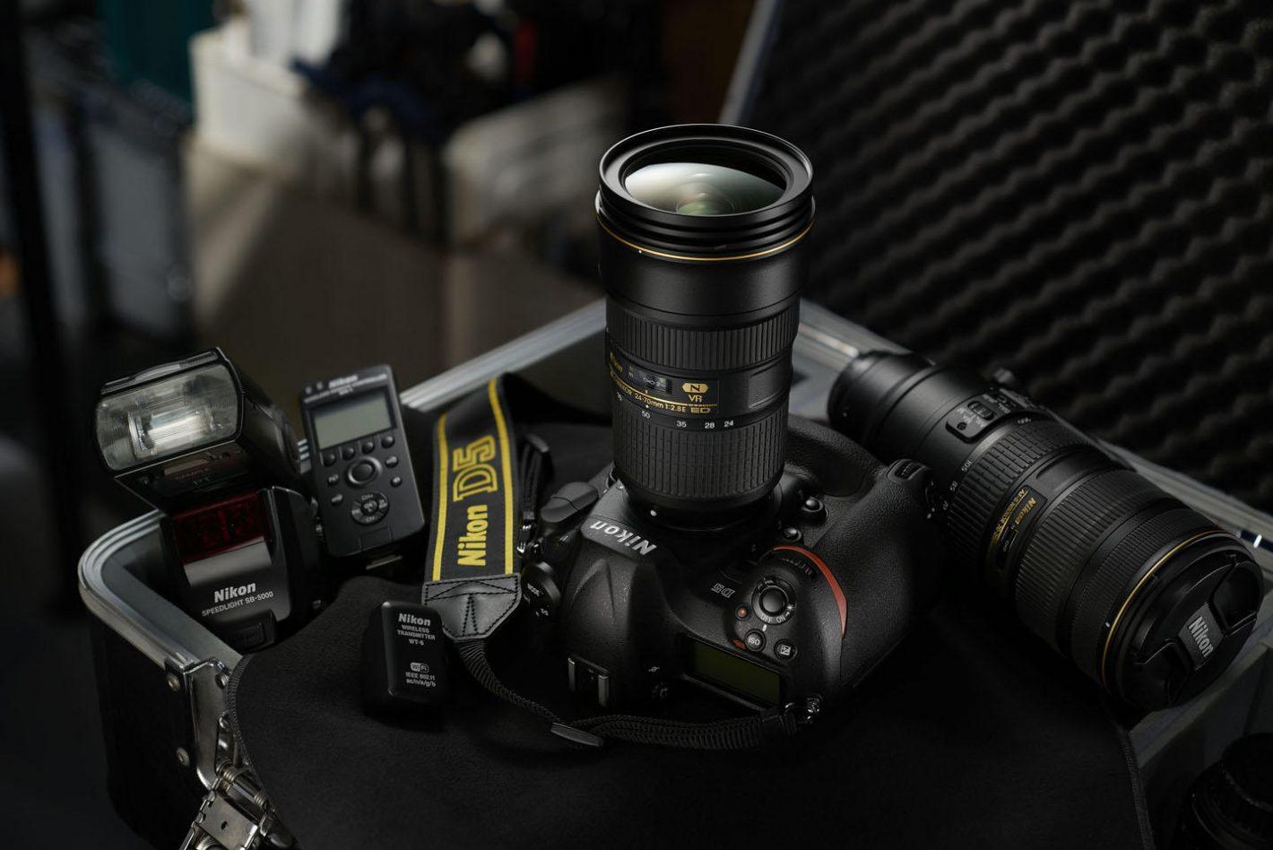 CES 2016 Nikon D5 D500