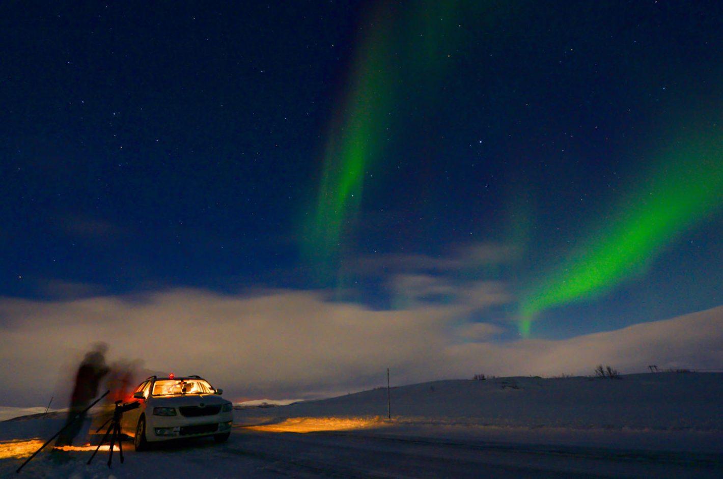 Laponie : comment photographier les aurores polaires ? Nikon D4 et objectif NIKKOR 14-24mm f/2.8