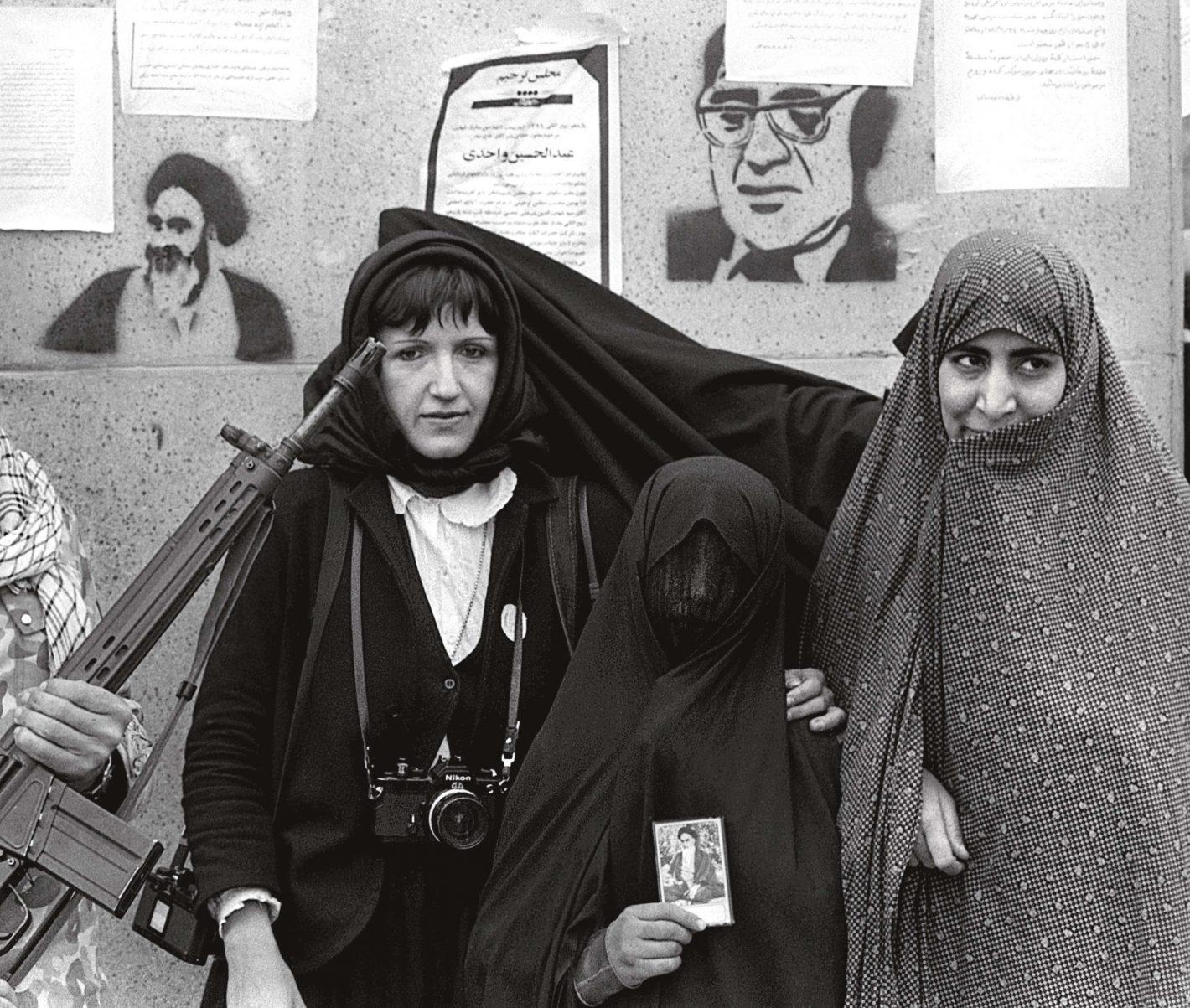 Christine Spengler Nikon Iran