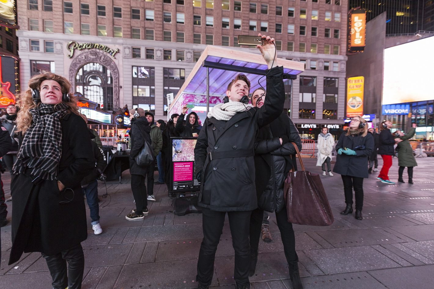 Times Square Jungle-Ized Eponine Momenceau Nikon