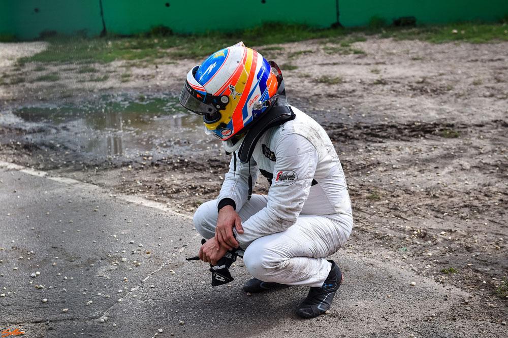 F1 Nikon D5 Australie Crash Fernando Alonso Daniel Kalisz