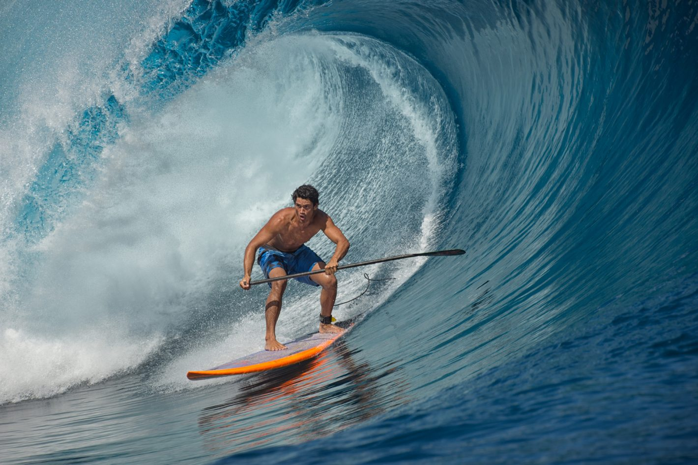 Nikon Sports Paddle Tahiti Mathilde Guillemot