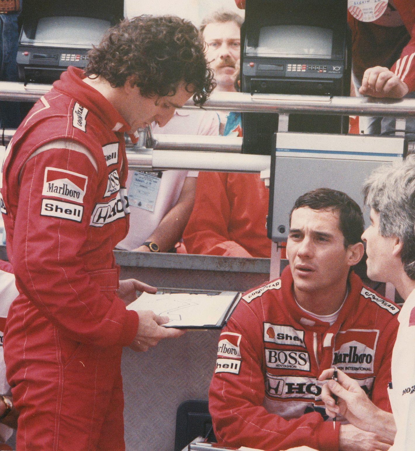 Prost -Senna 1988