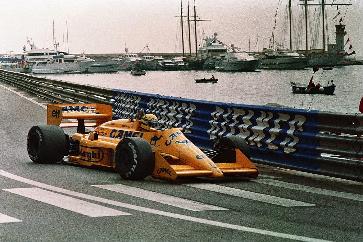 Senna 1er GP Monaco