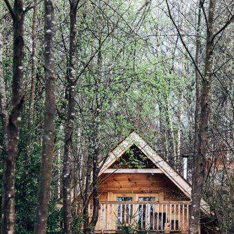 Une cabane perchée - Carte Postale de Bestjobers n°3