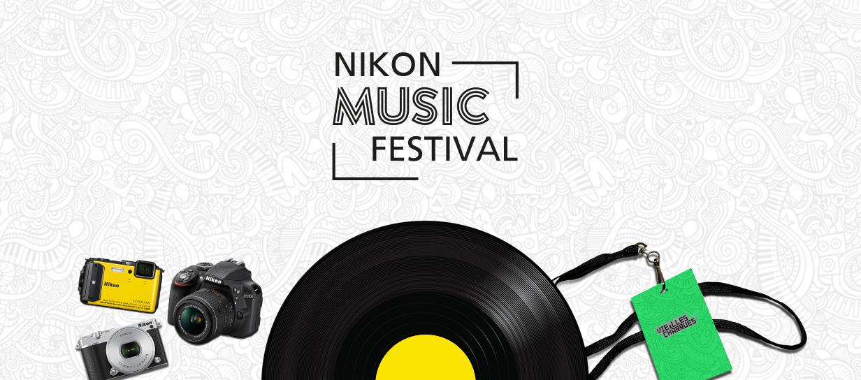 Participez au Quiz Nikon Music Festival