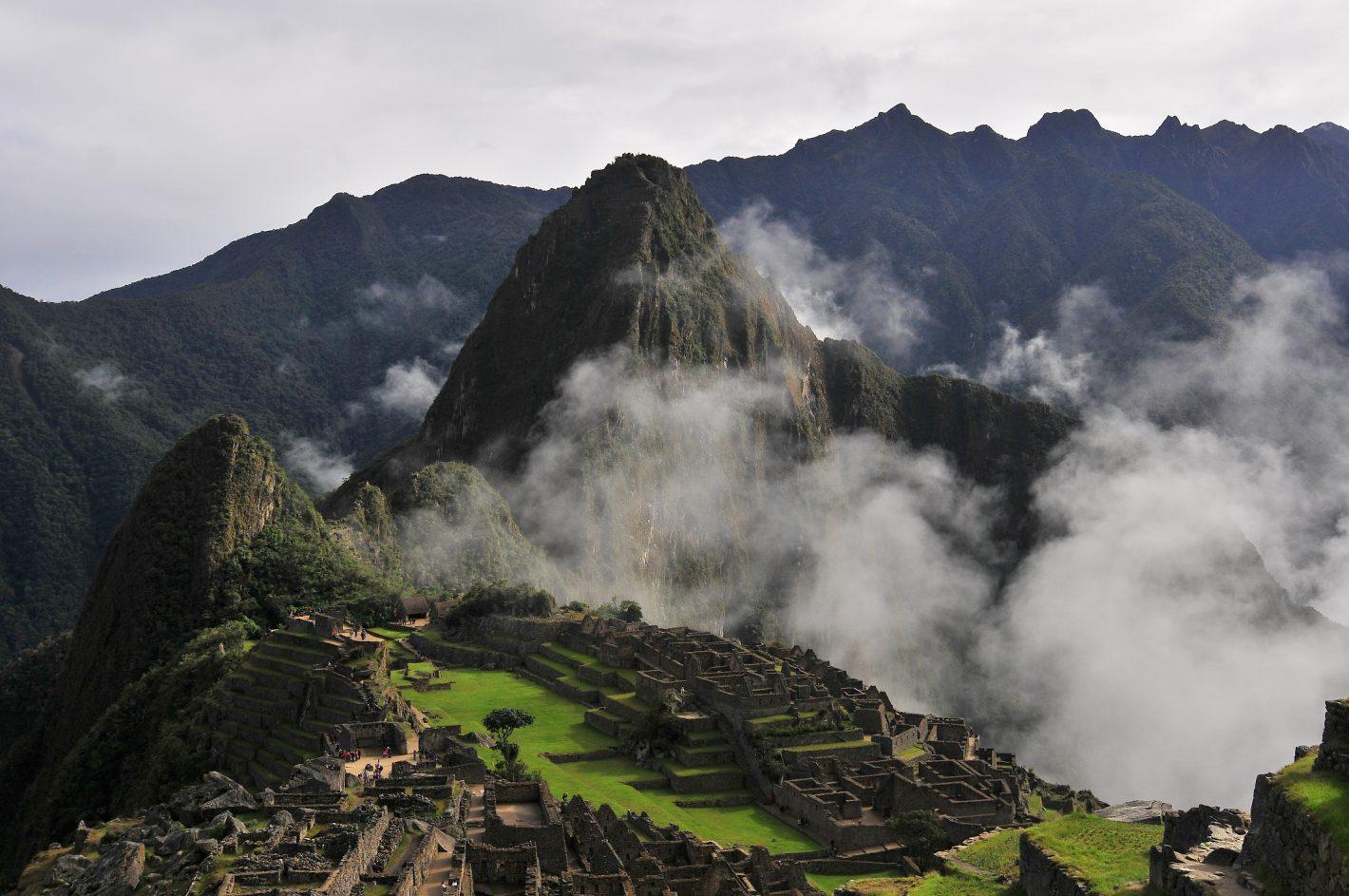 Nikon Voyages Machu Picchu dans les nuages