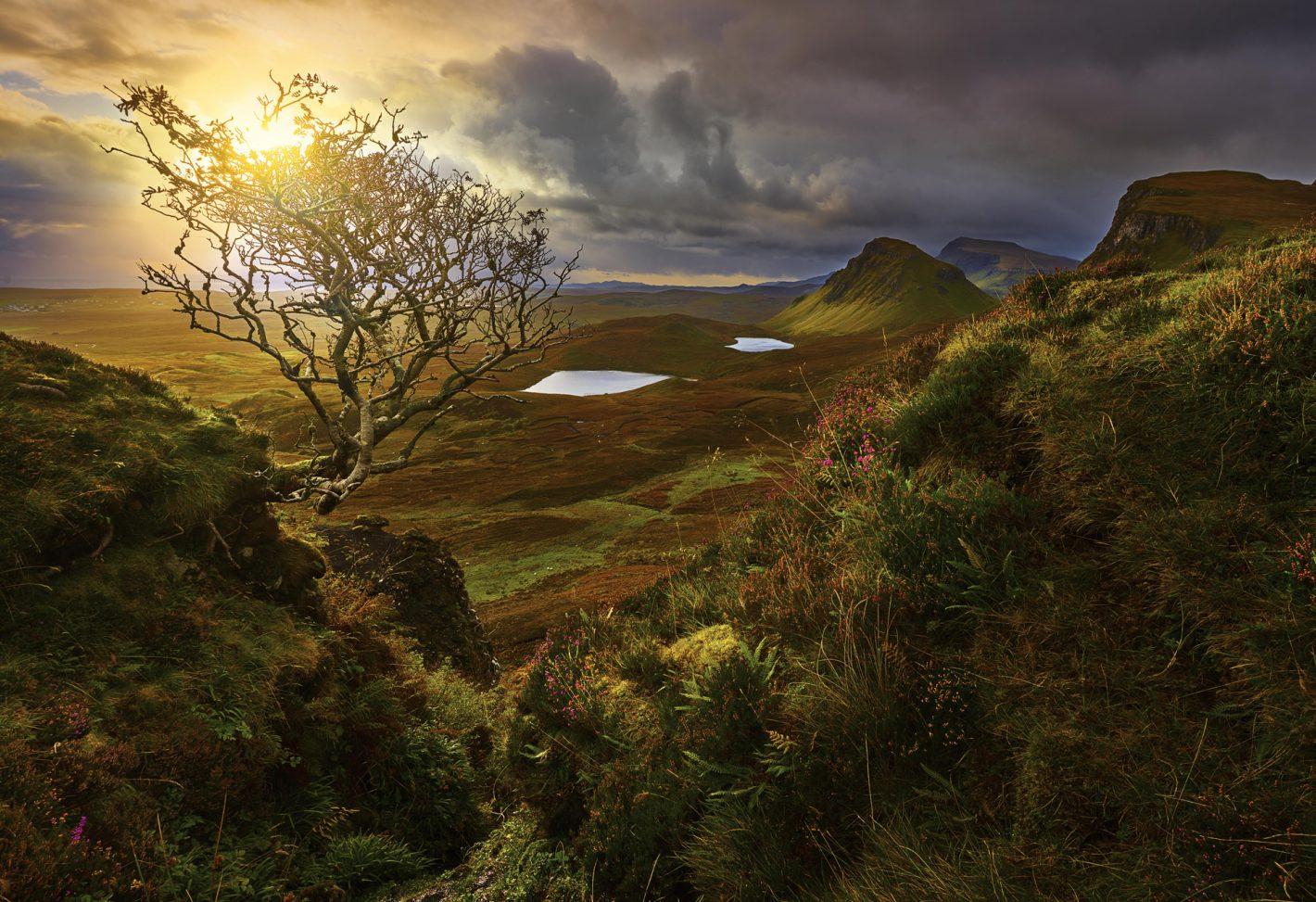 Nikon Voyages La magnifique péninsule de Skye à l'automne.