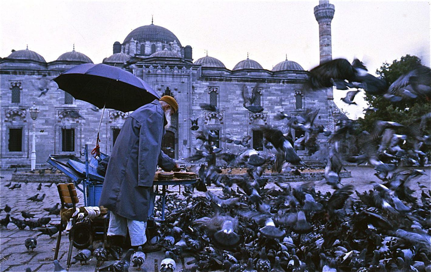 Nikon Voyages L'homme aux pigeons - Istanbul