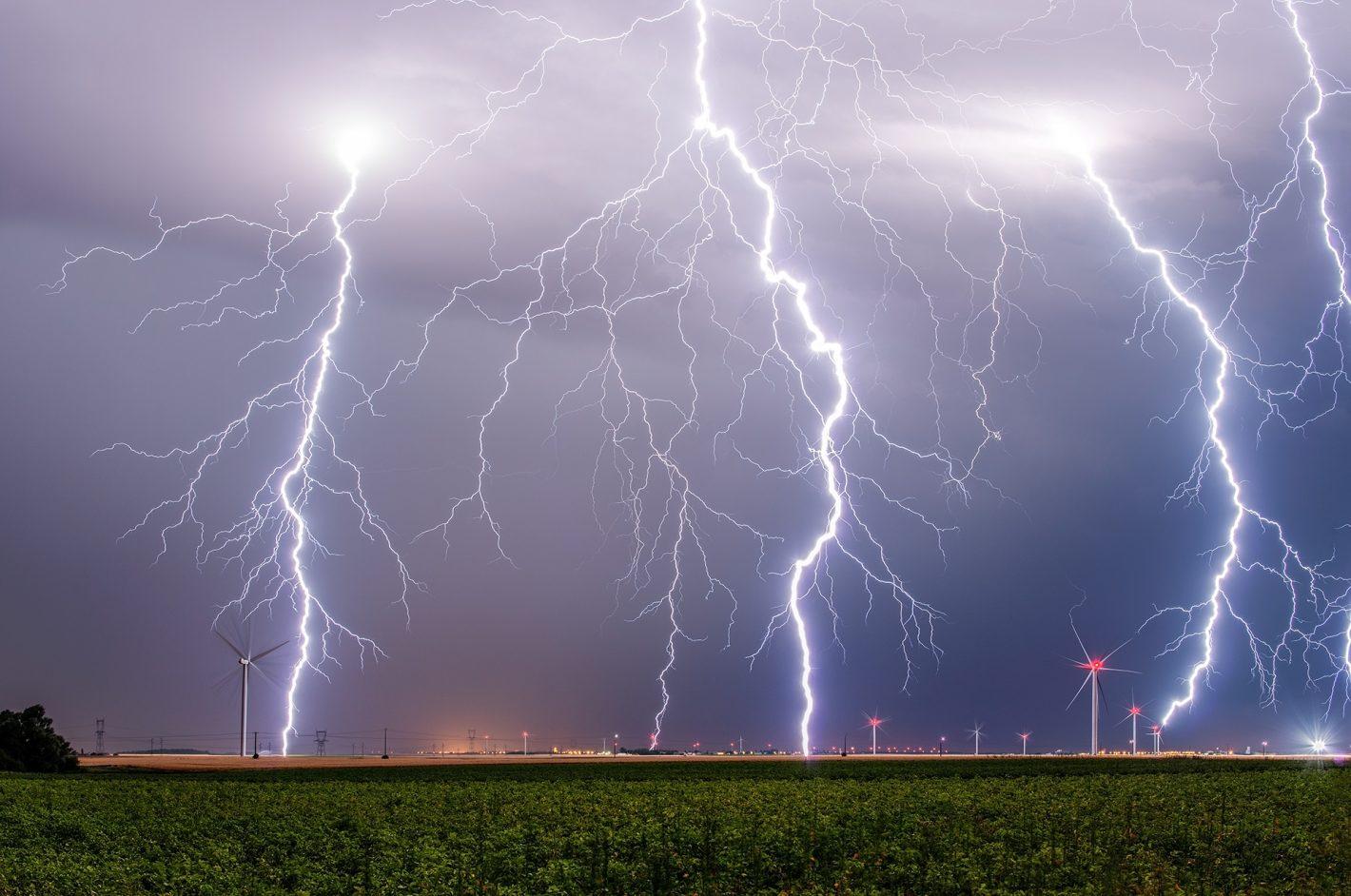 Orages forts la nuit du 25 au 26 juillet entre l'Eure et Loir et le Loiret