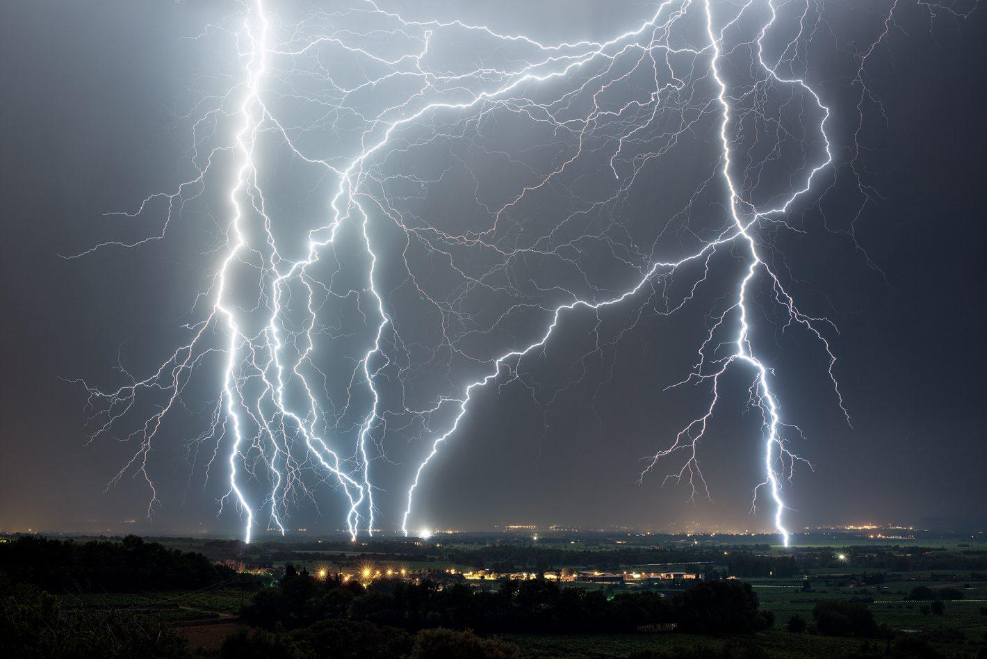 Orages entre Drôme et Vaucluse dans la nuit du 30 au 31 juillet 2016