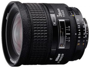 AF Nikkor 28mm f:1.4 D