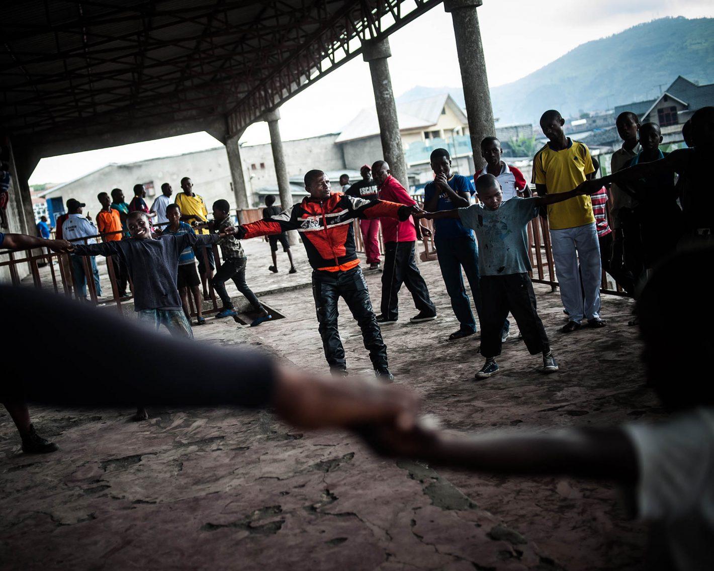 Boxe Congo William Dupuy Nikon