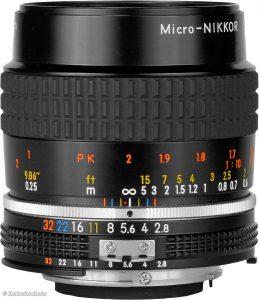 Micro Nikkor 50 mm