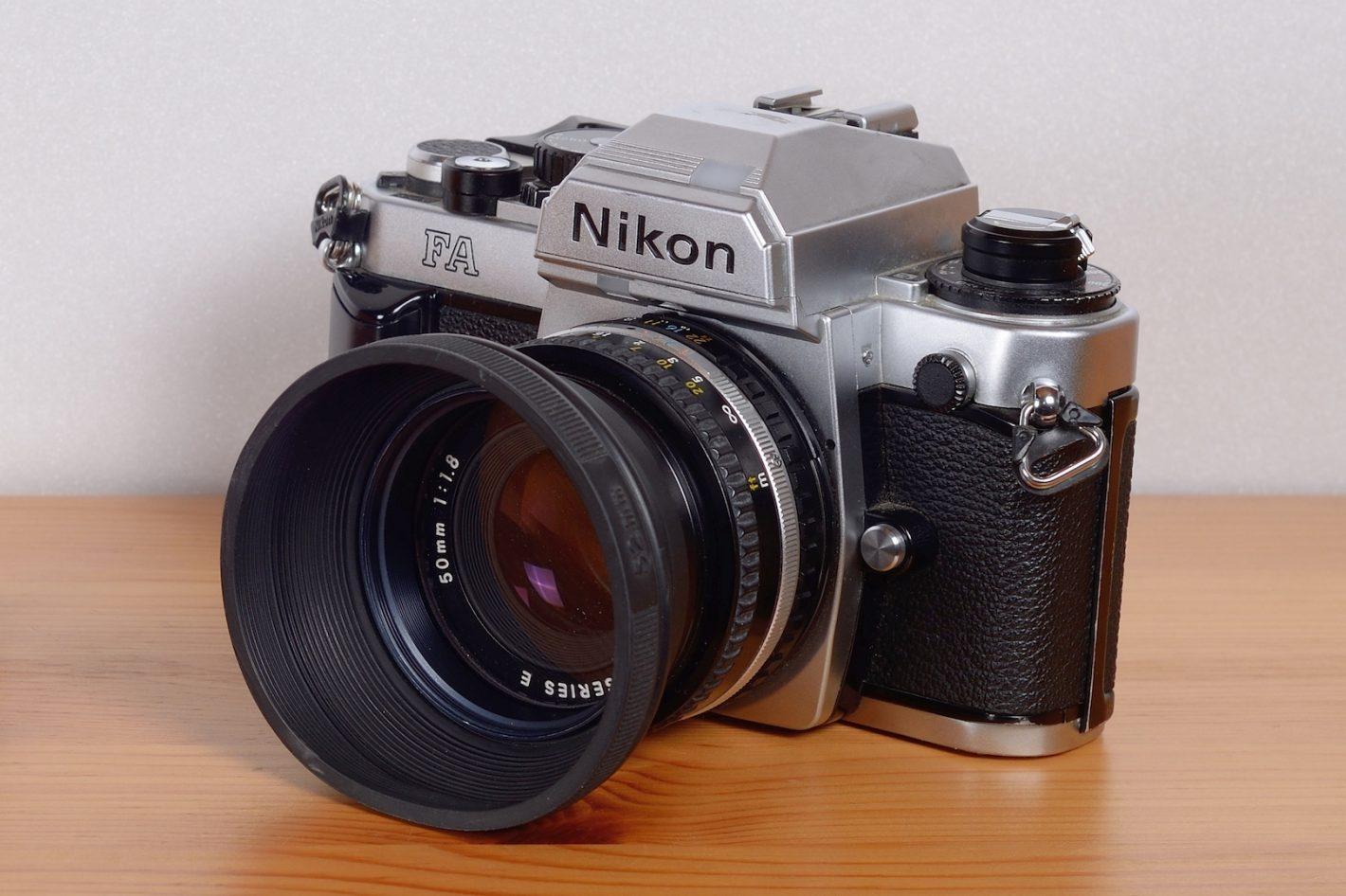 Boitiers Nikon FA