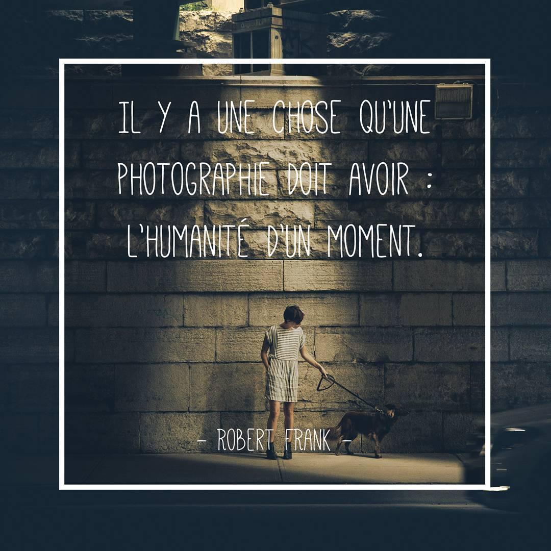 Citations Photographie Nikon Robert Frank