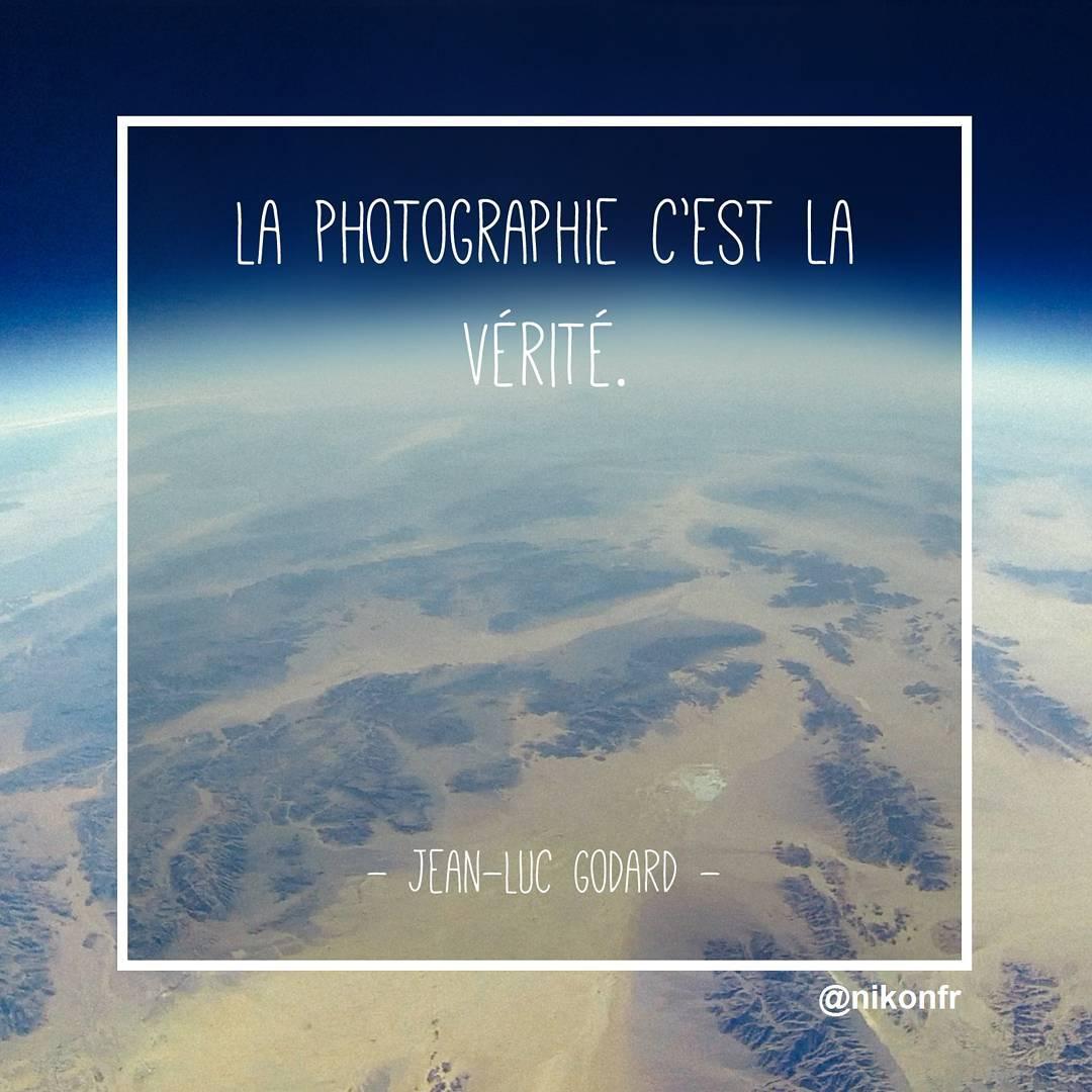 Citations Photographie Nikon Jean Luc Godard