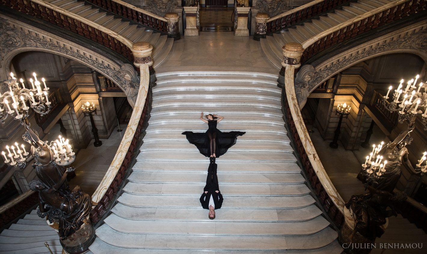 Visitez l'Opéra de Paris en photo avec Julien Benhamou