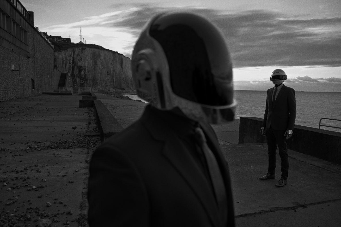Daft Punk, Ault, France, 2013 M Le Monde © Peter Lindbergh (Courtesy of Peter Lindbergh, Paris / Gagosian Gallery), Hedi Slimane for Saint Laurent, F/W 2013-2014