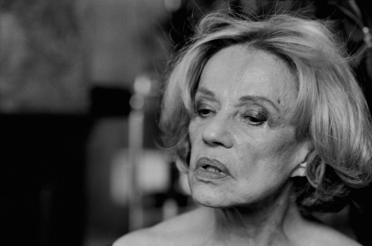 Jeanne Moreau, Paris, 2003 Vanity Fair © Peter Lindbergh (Courtesy of Peter Lindbergh, Paris / Gagosian Gallery)