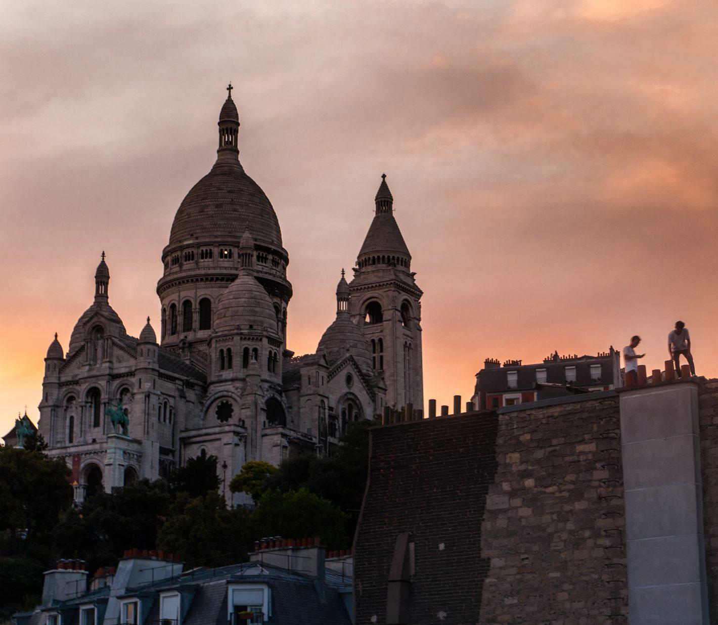 Ballade sur les toits de Paris avec Phil à Paname