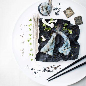 crevette obsiblue, nikon, photographie culinaire