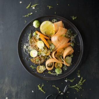 salade, nikon, photographie culinaire