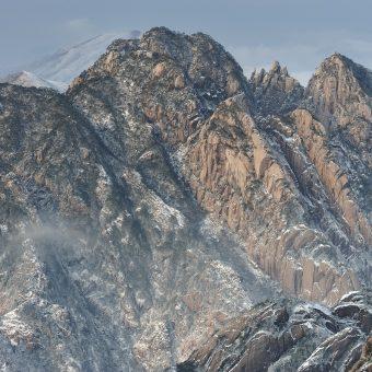 Paysage des montagnes jaunes (Chine) Huangshan scenery (China)