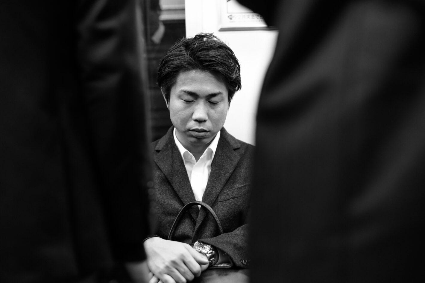 Endormi - Tokyo, décembre 2016