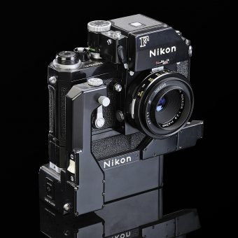 Collectionneur Thierry Ravassod Nikon Nikon F Blow Up