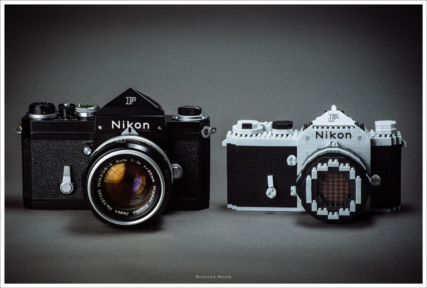 d couvrez le nikon f de 1959 en version nanoblock nikon store. Black Bedroom Furniture Sets. Home Design Ideas