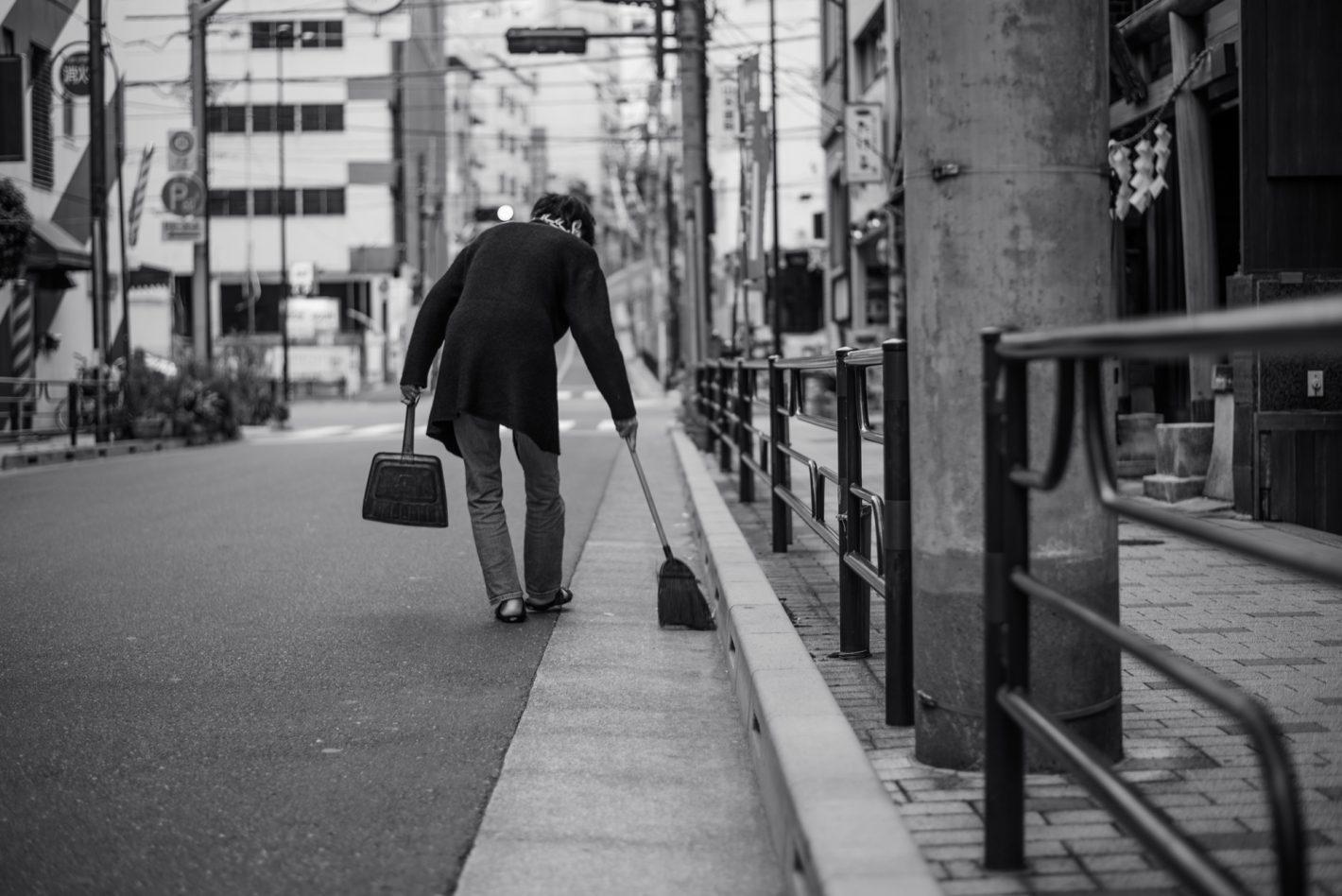Propreté - Tokyo, décembre 2016