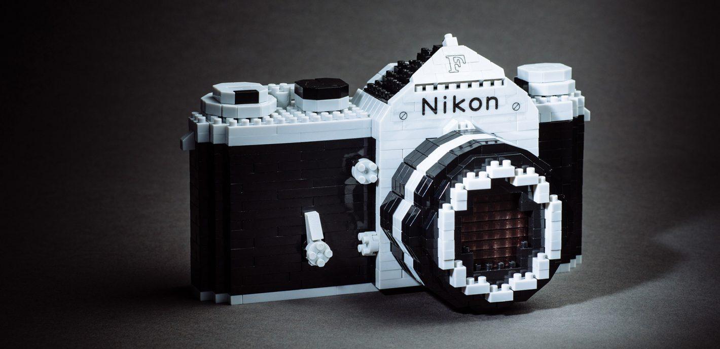 Nikon F Nanoblock - Source : http://www.photobyrichard.com/reviewbyrichard/nanoblock-x-nikon-f-review/