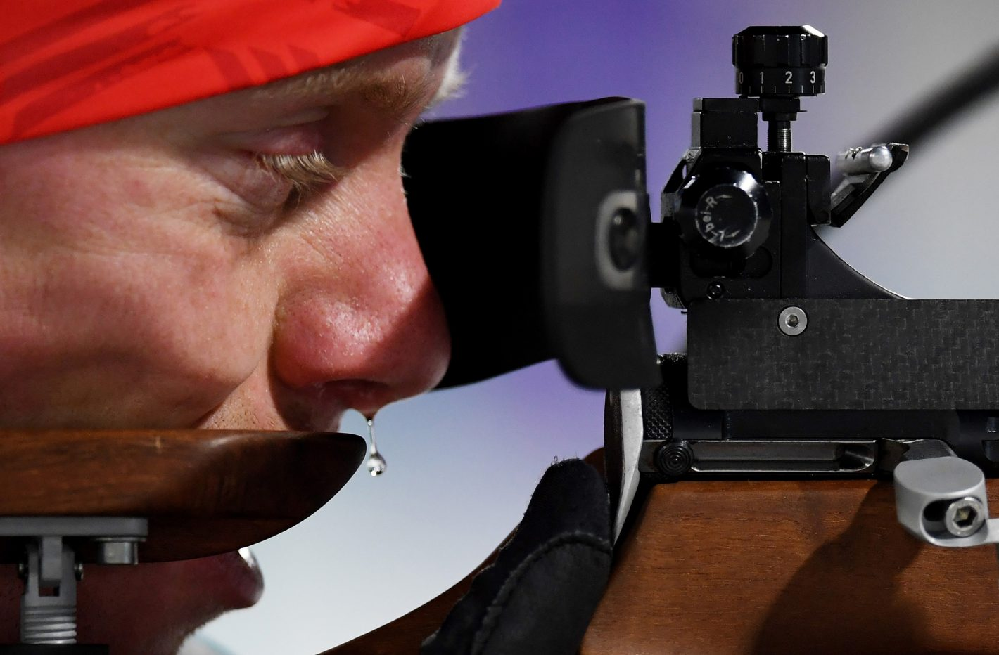 Biathlete Roman Rees of Germany trains ahead of the PyeongChang 2018 Winter Olympic Games at Alpensia Biathlon Centre on February 8, 2018 in Pyeongchang-gun, South Korea Nikon D5 | AF-S NIKKOR 400mm f/2.8E FL ED VR| ISO 2500 | 1/2500 | F2.8 Photo by Matthias Hangst/Getty Images