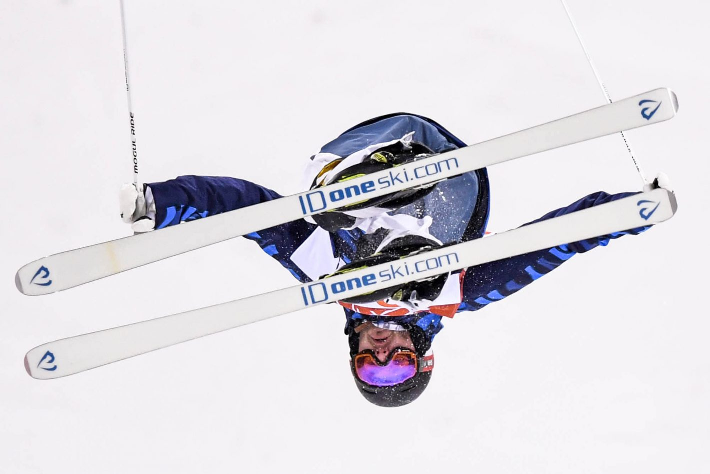 Jussi Penttala (FIN) competes in the freestyle skiing men's moguls qualification 2 at Phoenix Snow Park during the PyeongChang 2018 Olympic Winter Games. Nikon D5 | AF-S NIKKOR 600mm f/4E FL ED VR | ISO 4000 | 1/2500 s | f/4.0 Photo by Kyle Terada/USA TODAY Sports