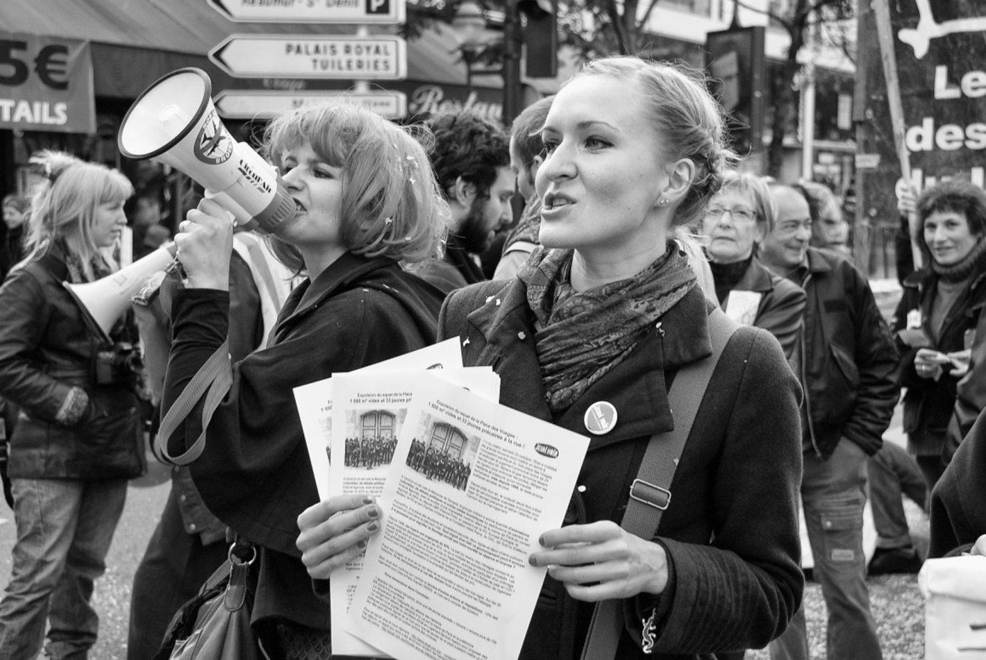 Pascal Delnegro : Femmes citoyennes.