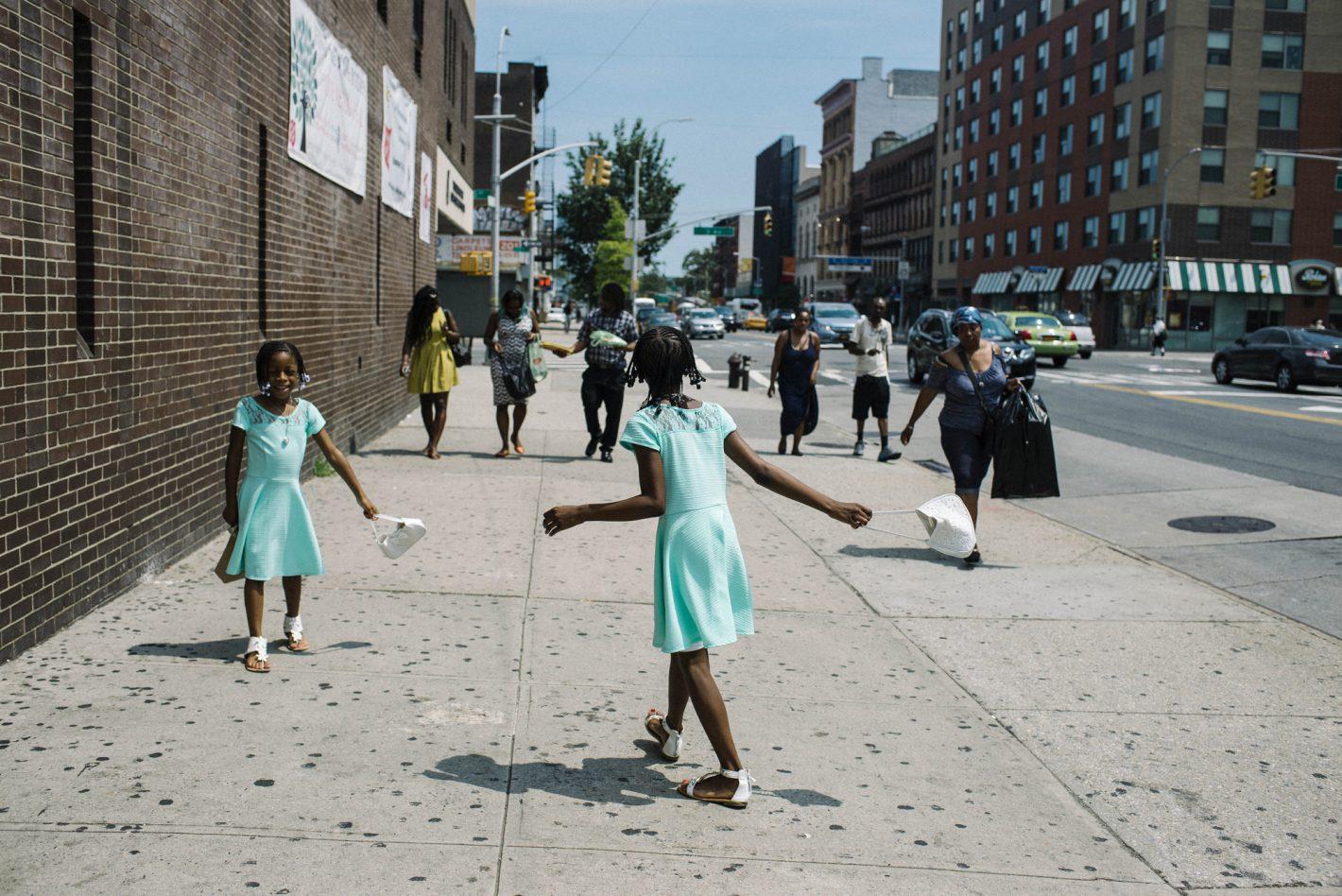 La vie quotidienne à New-York illustrée par Paul Mougeot