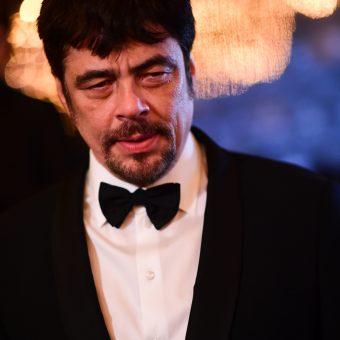 Benicio Del Torro par Anthony Ghnassia pour Cannes 2018