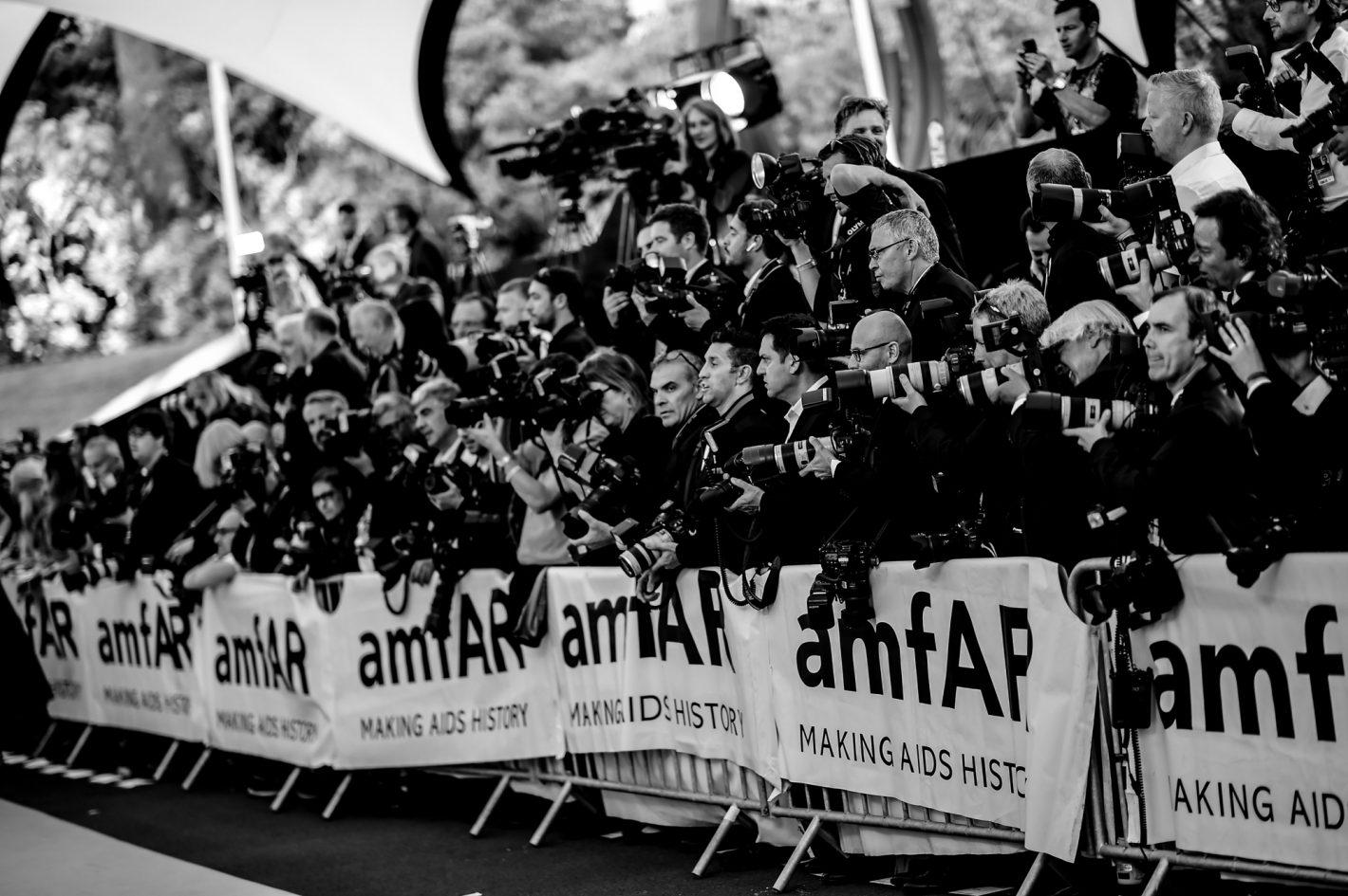 Photocall amfAR par Anthony Ghnassia pour Cannes 2018