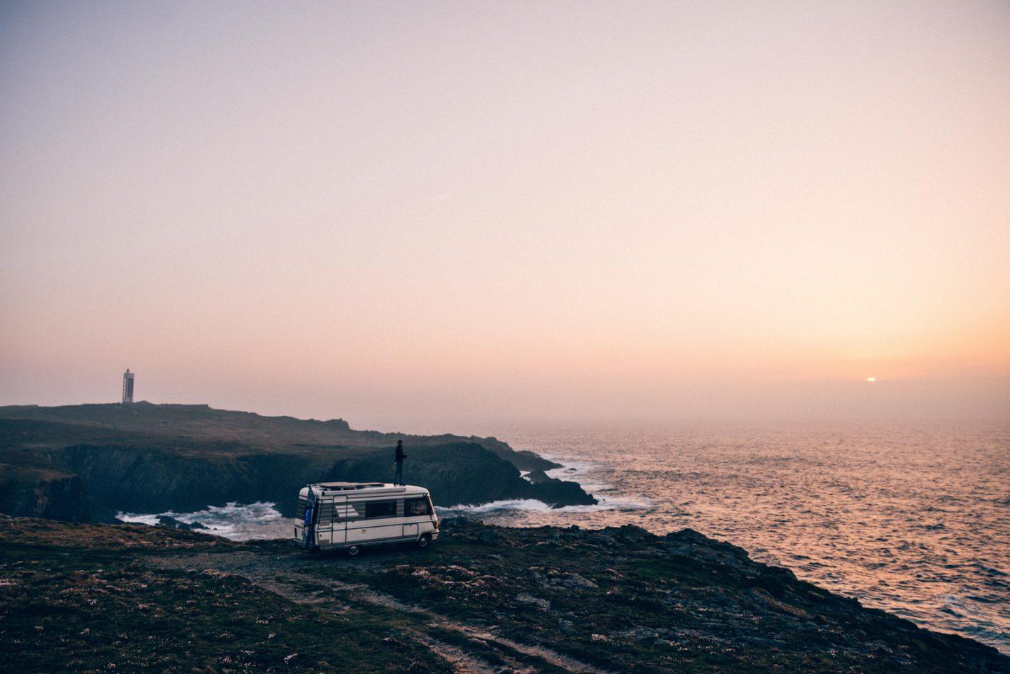 Un road trip en camping car à travers la Galice avec Jonathan Bertin