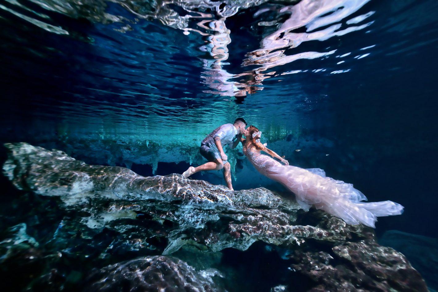 Découvrez les portraits aquatiques de Pierre Violle