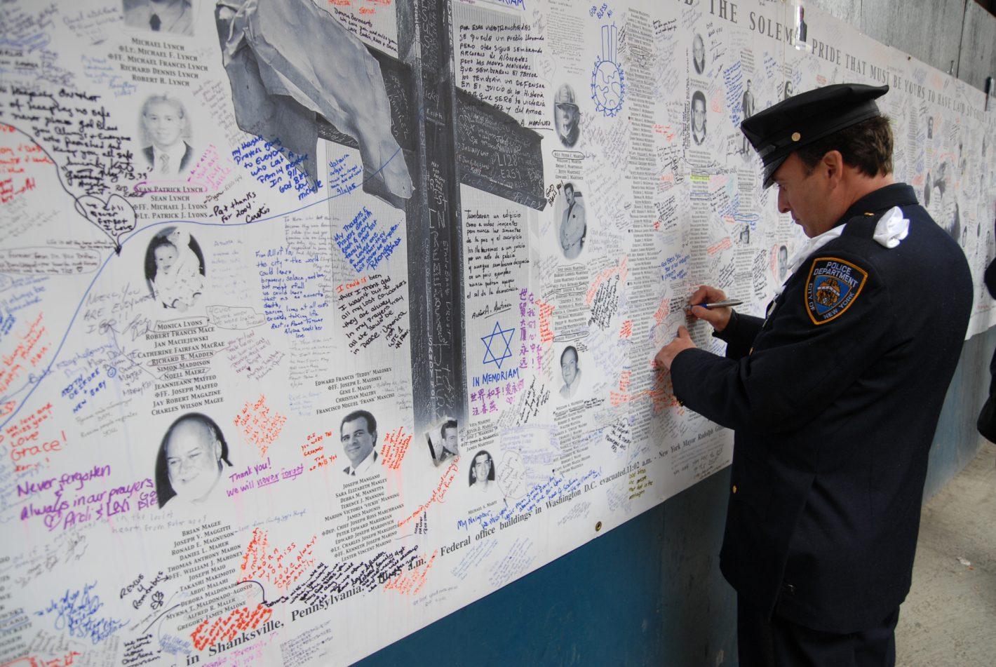 Sur les traces des héros du 11 septembre avec Sébastien Frémont