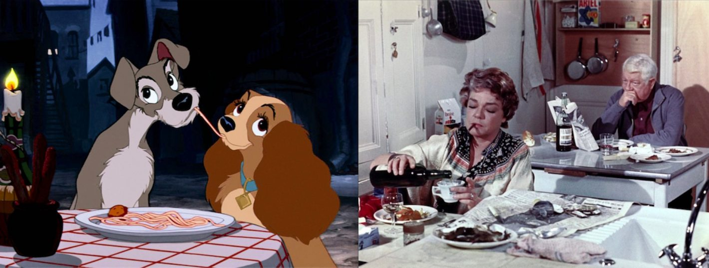 La Belle et le Clochard (Lady and the Tramp) - © Walt Disney Studios Motion Pictures / Le Chat - © Valoria Films