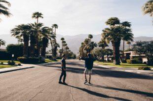 Une tournée en Californie avec Jonathan Bertin et l'artiste Møme