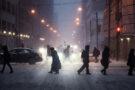 Les rues enneigées de Toronto dans l'objectif de Jack Loughran