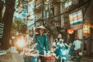 Dans les rues de Hanoï avec Adriaan du Toit