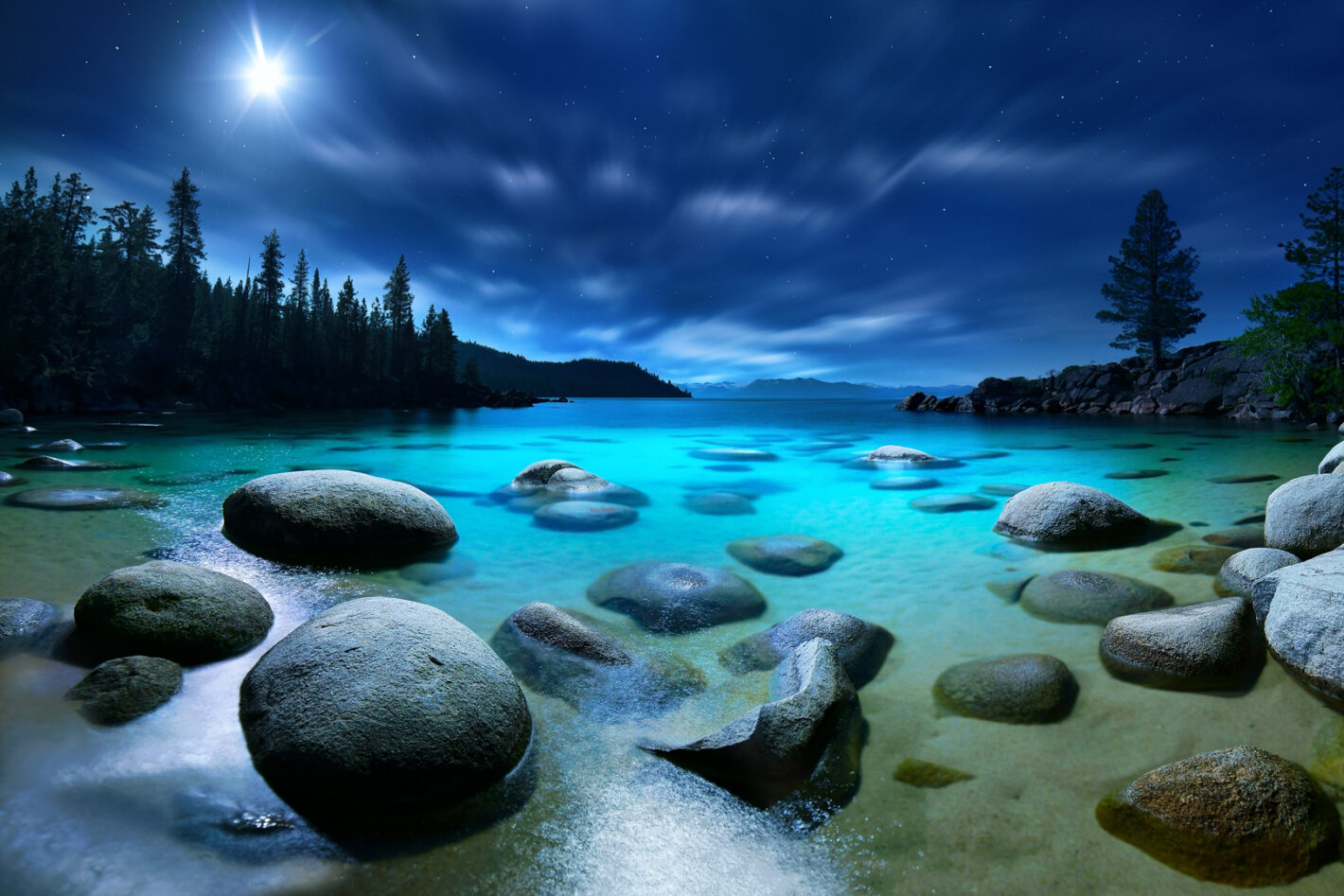 Luminosity, Lake Tahoe, Nevada, CA, USA Sony a7r2, 14mm, 20sec, 1000 iso, f2.8