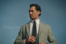Le top model britannique David Gandy dans le rôle de Cary Grant