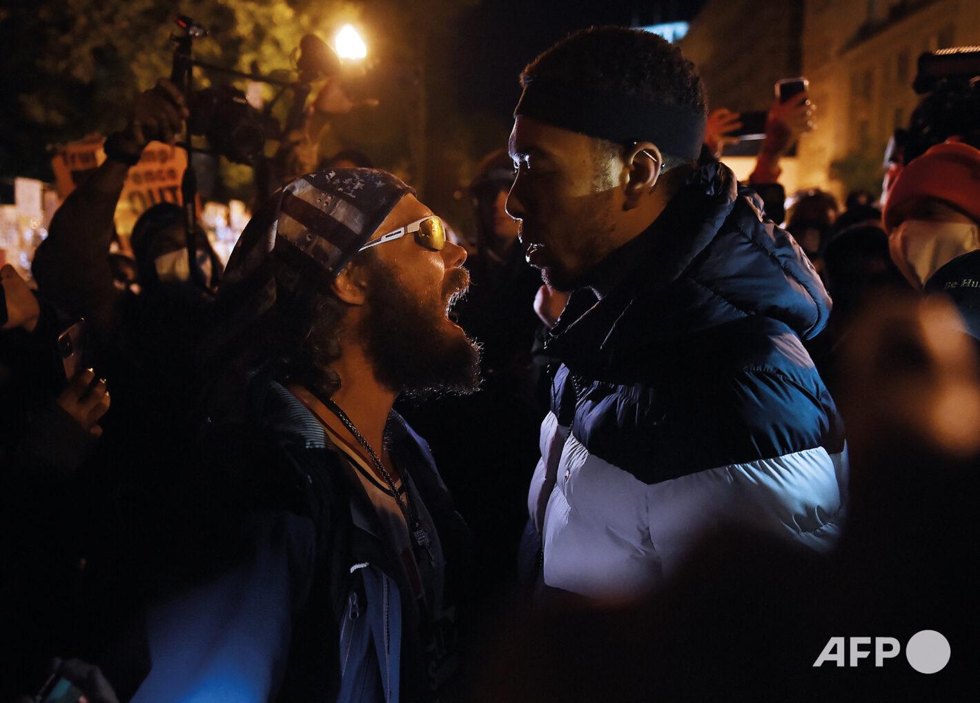 AFP 4 | Olivier DOULIERY 3 novembre 2020 – Washington, DC (États-Unis)