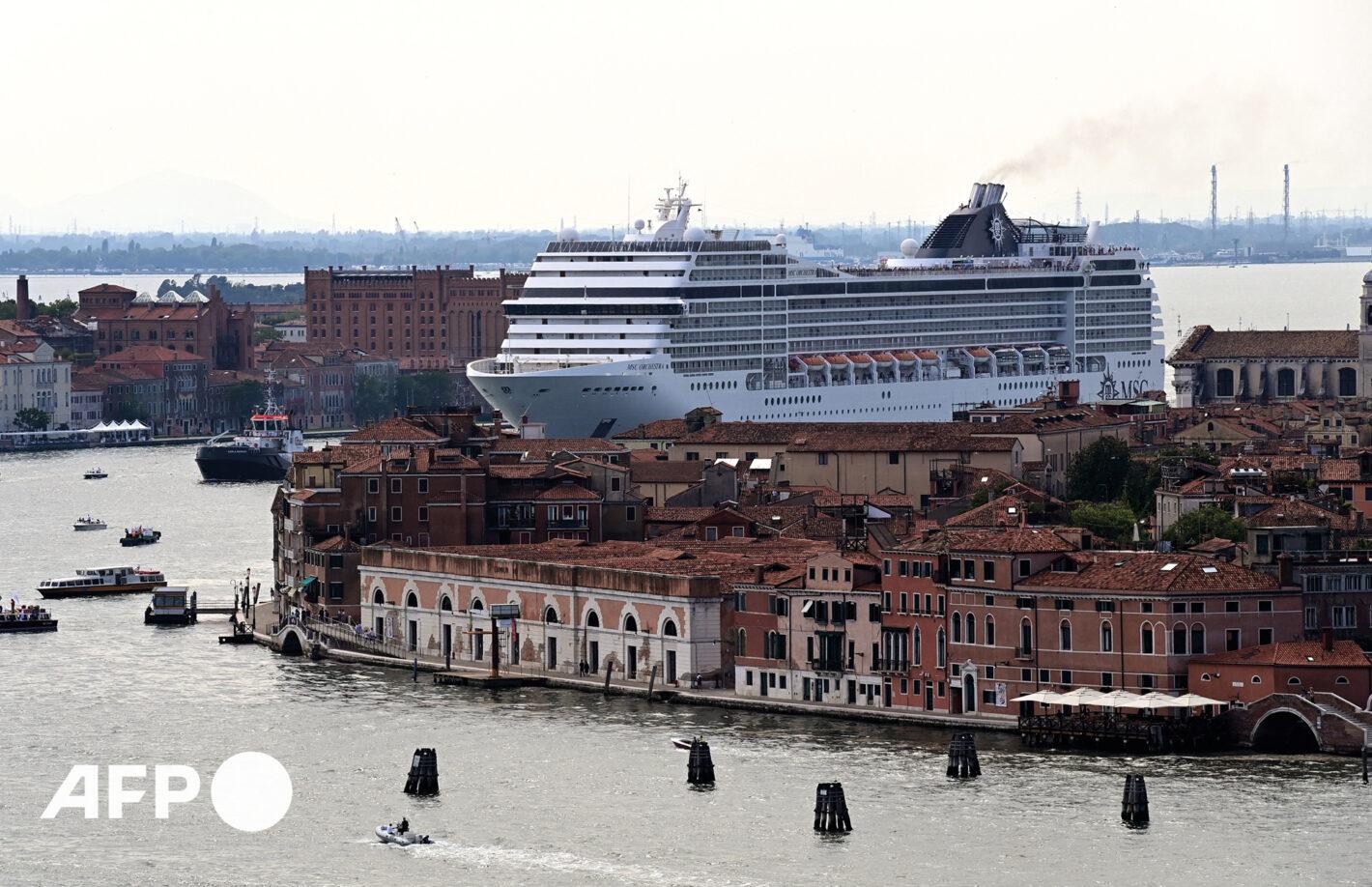 AFP 9 | Miguel MEDINA 5 juin 2021 – Venise (Italie)
